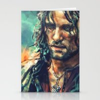 lotr Stationery Cards featuring Elessar by Alice X. Zhang