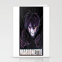 fnaf Stationery Cards featuring Marionette pic 2 by Nazaki Cain