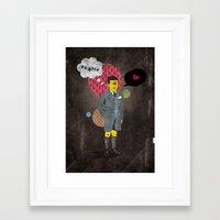 beast Framed Art Prints featuring Beast by jnk2007