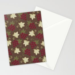 Sweet Grapevine on Milk Chocolate Stationery Cards