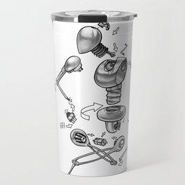 Build your own machine! Travel Mug
