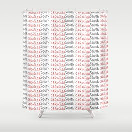 South Carolina-Savannah,Palmetto,Carolinian,Cotton,South,South carolina,Carolina,Southeastern Shower Curtain