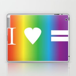 I heart Equality Laptop & iPad Skin