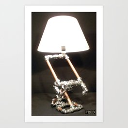 Articulated Desk Lamps - Copper and Chrome Collection - FredPereiraStudios_Page_02 Art Print