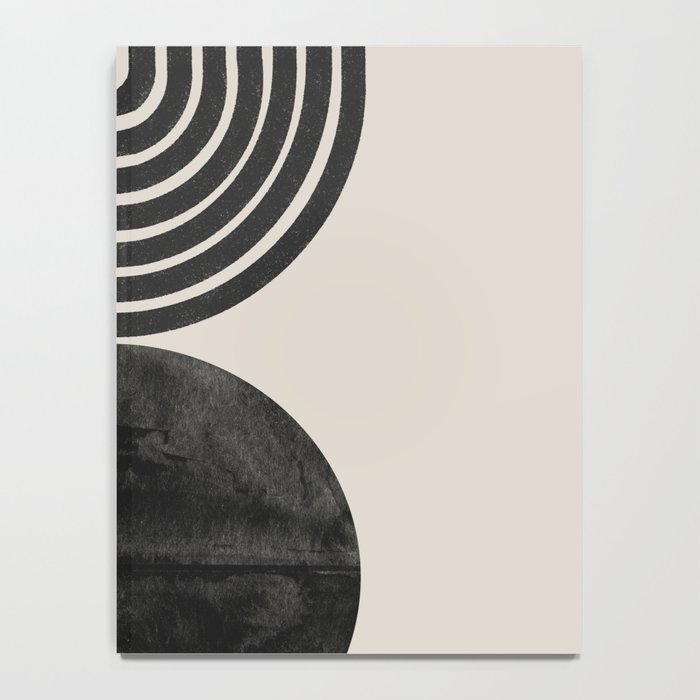 Woodblock Print, Modern Art Notebook