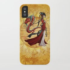 Chinese dragon iPhone X Slim Case