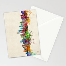 Seattle Washington Skyline Stationery Cards