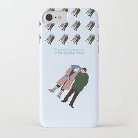 eternal sunshine of the spotless mind iPhone & iPod Cases featuring Eternal Sunshine of the Spotless Mind by bonieiji