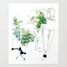 Selbstverständnis Art Print