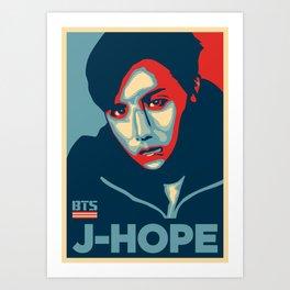 J-HOPE Art Print