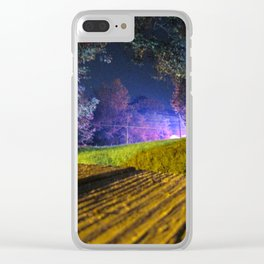 Neon Panic Clear iPhone Case