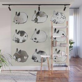 Little Bunnies Wall Mural