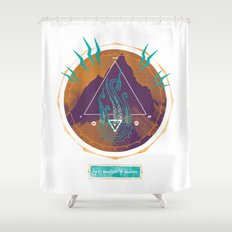 The Mountain of Madness Shower Curtain