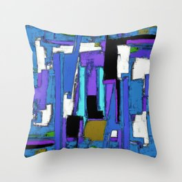 Maze 2 Throw Pillow