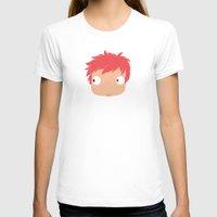 ponyo T-shirts featuring Ponyo likes you! by Mariotaro