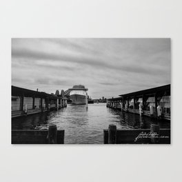 Sydney Harbou Canvas Print