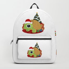 Christmas - Turtle Backpack