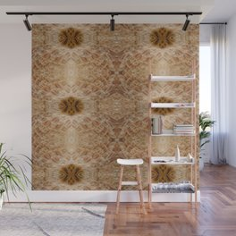 Chicken Feathers Mink Coat Wall Mural