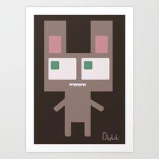 Bearthing Art Print