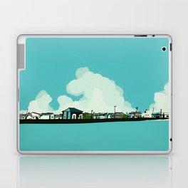 Walk along the sea Laptop & iPad Skin