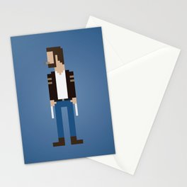 The Man With Metal Claws Stationery Cards