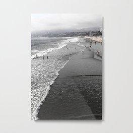 Murky Beach Metal Print