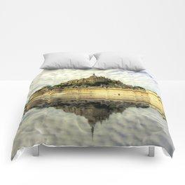 Mont St Michel Comforters