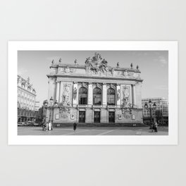Opéra de Lille, France Art Print