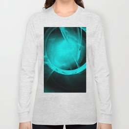 Through the glowing glass portal Long Sleeve T-shirt