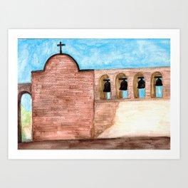 The Mission Bells Art Print