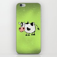 cow iPhone & iPod Skins featuring Cow by Mr and Mrs Quirynen