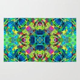 kaleidoscope Crystal Abstract G116 Rug