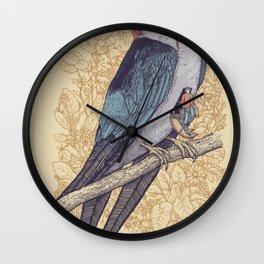 Frequent Passenger Wall Clock