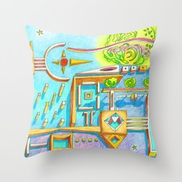 ...we both know we can´t go without it... Throw Pillow