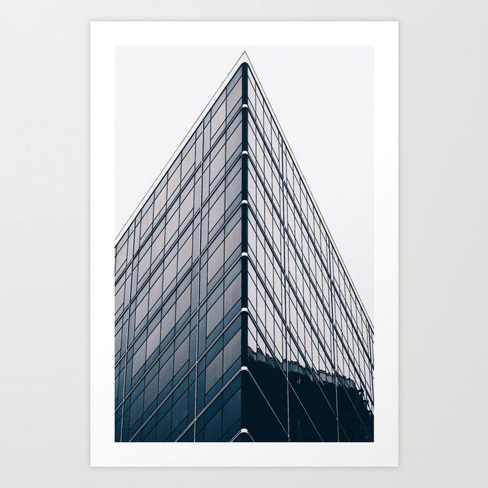 The Glass Point Art Print