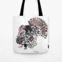 turkey Tote Bags featuring Turkey by Elena Sandovici