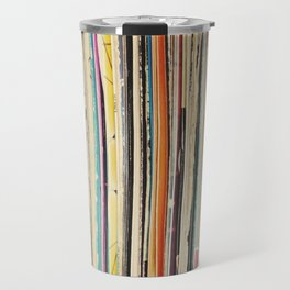Record Collection Travel Mug