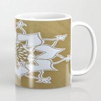 golden Mugs featuring Golden by AriesArtNW.com