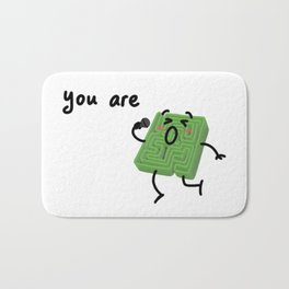 You are amazing! Bath Mat