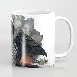 Dying Stars: Common Loon Coffee Mug