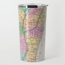 Vintage Map of Vermont (1827) Travel Mug