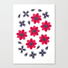 Baby Red Canvas Print