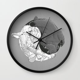 """""""Sometimes you eat the bear and sometimes... Wall Clock"""
