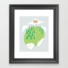 We know a place Framed Art Print