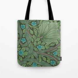 "William Morris ""Forget-Me-Nots"" (""Pimpernel"" detail) Tote Bag"
