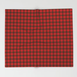 MacDougall Tartan Throw Blanket