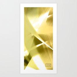 Gold Lining Art Print