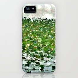 Lily Pads On The River iPhone Case