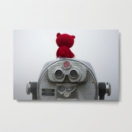I'm Seeing Red Metal Print