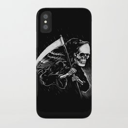 DEATH WILL HAVE HIS DAY iPhone Case